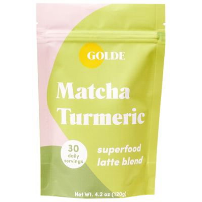 GOLDE | Matcha Turmeric Latte Blend For Skin Glow + Metabolism