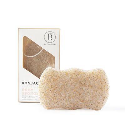 BATHORIUM | Konjac Walnut Shell Exfoliating Body Sponge