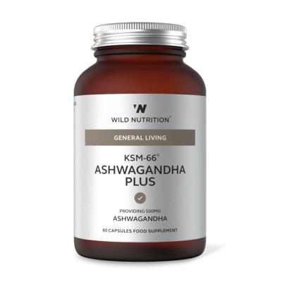 WILD NUTRITION | KSM-66 Ashwagandha Plus