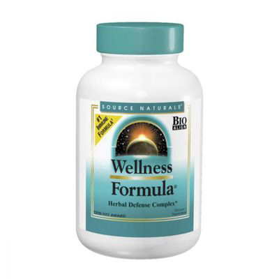 SOURCE NATURALS | Source Naturals Wellness Formula 180 Tablets