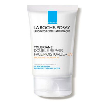 oily skin daytime moisturizer: LA ROCHE-POSAY   Toleriane Double Repair UV Face Moisturizer With SPF 30