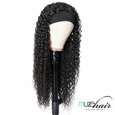 Deep Curl Headband Wig- 22in