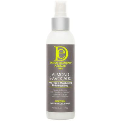 DESIGN ESSENTIALS | Almond & Avocado Anti-Frizz & Moisturizing Finishing Spray