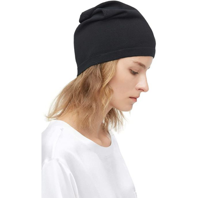LILYSILK | 100% Silk Knitted Slouchy Beanie Breathable