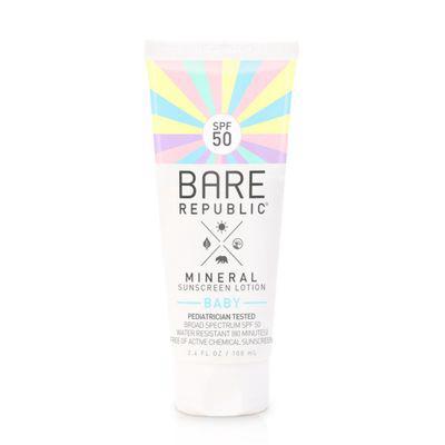 BARE REPUBLIC | Bare Republic Mineral Baby Sunscreen Lotion SPF 50 3.4oz