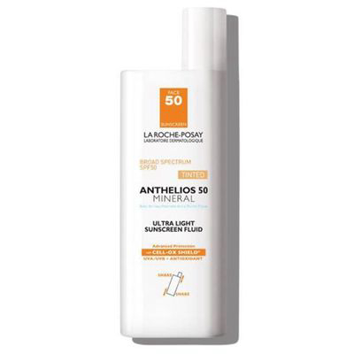 LA ROCHE-POSAY | Anthelios Ultra-Light Mineral Sunscreen SPF 50 (Tinted)