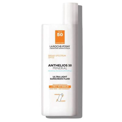 LA ROCHE-POSAY | Anthelios Ultra-Light Mineral Sunscreen SPF 50 (Non-Tinted)