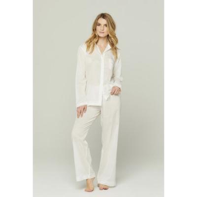 POUR LES FEMMES   Classic Style Pajama Set