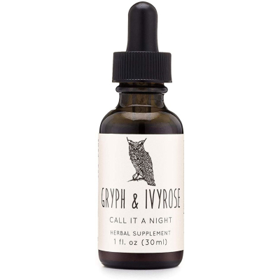 GRYPH & IVYROSE | Call It A Night Sleep Support Herbal Supplement