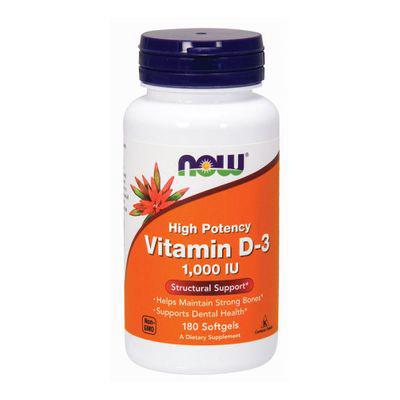 NOW   Vitamin D-3 1000IU
