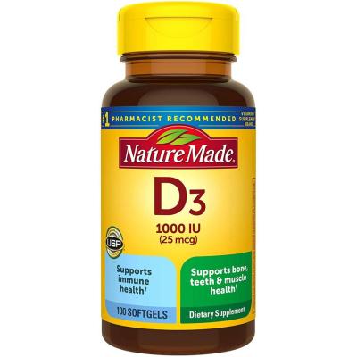 NATURE MADE   Vitamin D3 Softgels
