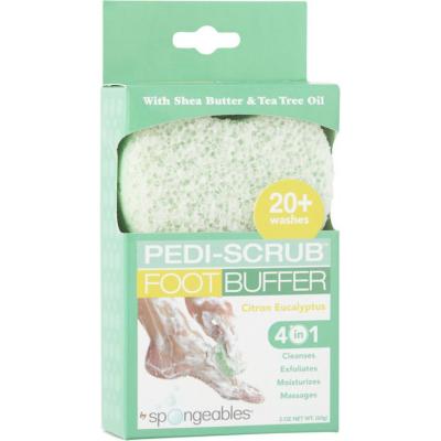 SPONGEABLES | Pedi-Scrub Foot Buffer 20+