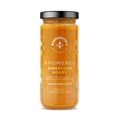 BEEKEEPER'S NATURAL | B. Powered Superfood Honey