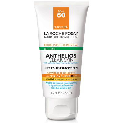 LA ROCHE-POSAY | Anthelios Clear Skin Dry Touch Sunscreen SPF 60