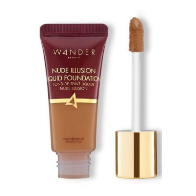 WANDER BEAUTY | Nude Illusion Liquid Foundation - Golden Rich