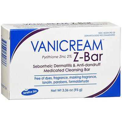 Vanicream Z-Bar Medicated Cleansing Bar Soap