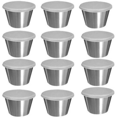 TABLECRAFT | 2.5 oz Dipping Cups with Lids