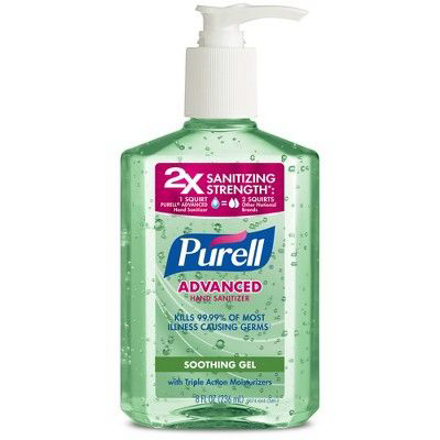 PURELL | Advanced Hand Sanitizer with Aloe