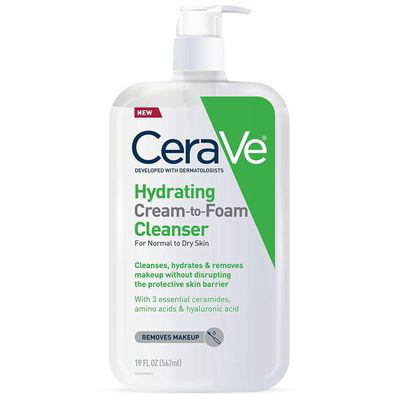 CERAVE | Hydrating Cream-to-Foam Cleanser