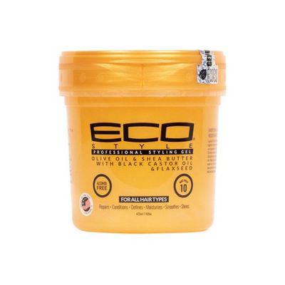 Eco Style Black Castor & Flaxseed Oil Styling Gel   Hair Gel & Glaze   Textured Hair   Sally Beauty