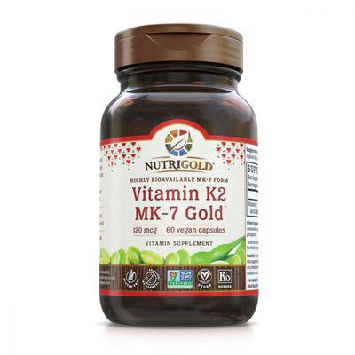 NUTRIGOLD   Vitamin K2 Mk-7 Gold 60 VCaps