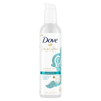 DOVE | Amplified Textures Hydrating Cleanse Shampoo