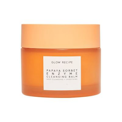GLOW RECIPE | Papaya Sorbet Enzyme Cleansing Balm