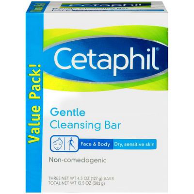 Cetaphil, Gentle Cleansing Bar