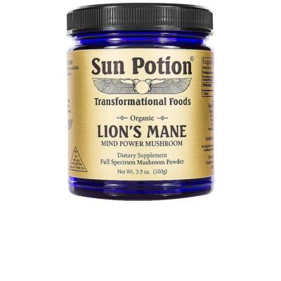 SUN POTION | Mind Power Lions' Mane Organic Mushroom Powder