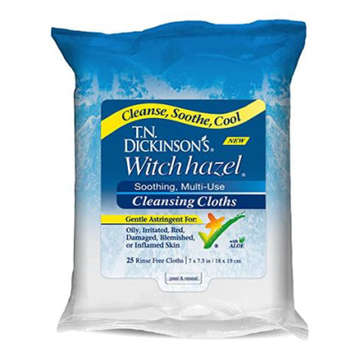 T.n. Dickinson's Witch Hazel New Soothing Multiuse Cleansing Cloth
