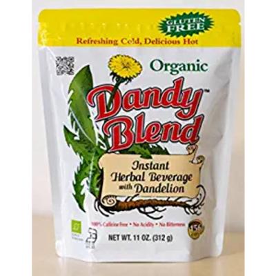 156 Cup Bag Of Certified Organic Dandy Blend Instant Herbal Beverage With Dandelion