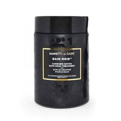 NANNETTE DE GASPE | Bain Noir Cannabis Sativa Bath Soak Treatment