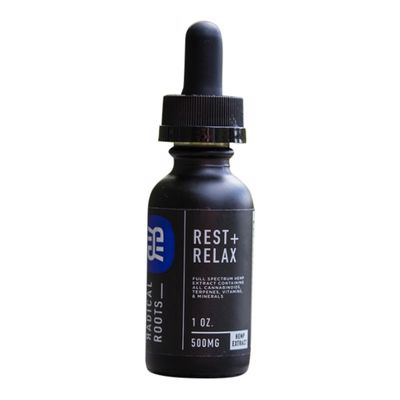 RADICAL ROOTS | Rest + Relax Tincture