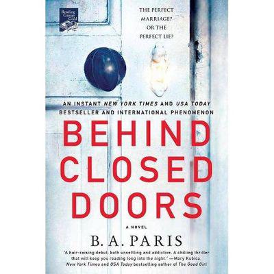 """B.A. PARIS   """"Behind Closed Doors"""" Book"""