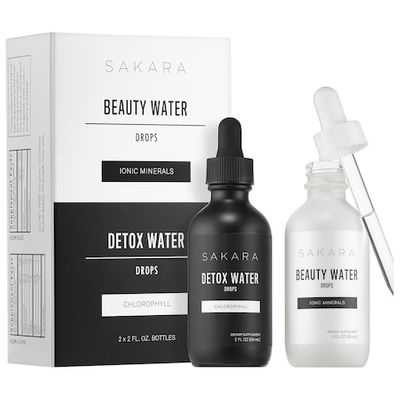 SAKARA LIFE   Beauty + Detox Water Drops Duo
