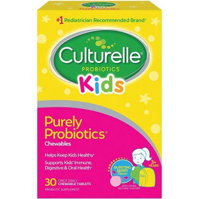 CULTURELLE   Kids Chewable Daily Probiotic
