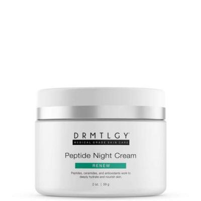 """DRMTLGY   Peptide Night Cream *CODE """"ZIONK"""" FOR 20% OFF"""