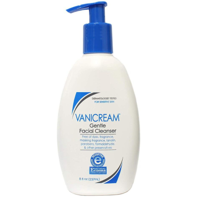 VANICREAM | Unscented Gentle Facial Cleanser