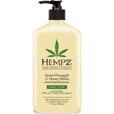 HEMPZ | Herbal Moisturizer - Sweet Pineapple & Honey Melon