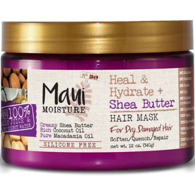 MAUI MOISTURE | Heal & Hydrate + Shea Butter Hair Mask
