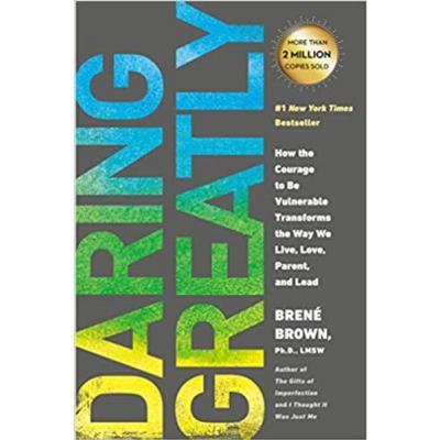 """BRENÉ BROWN   """"Daring Greatly"""" BOOK"""