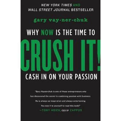 """GARY VAYNERCHUK   """"Crush It!"""" Book"""