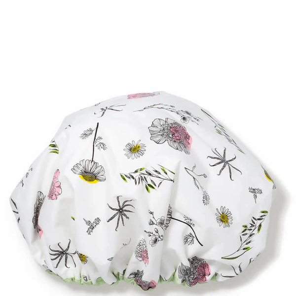 Terrycloth-Lined Shower Cap