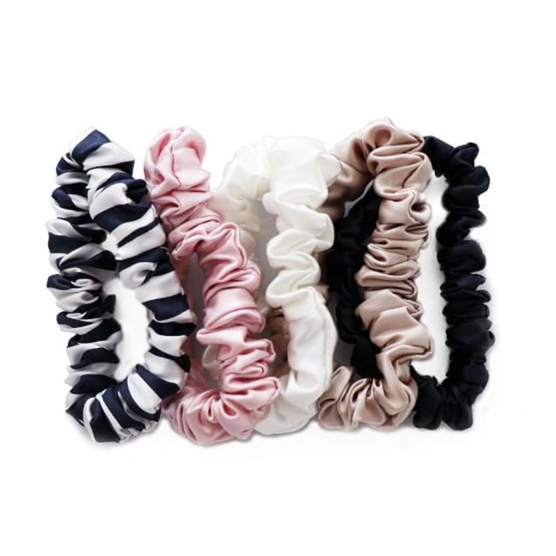Medium Silk Scrunchies