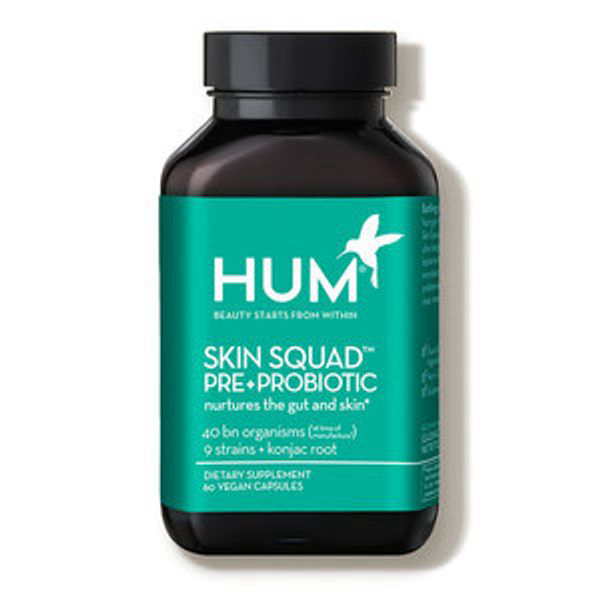 HUM NUTRITION   Skin Squad Pre+probiotic