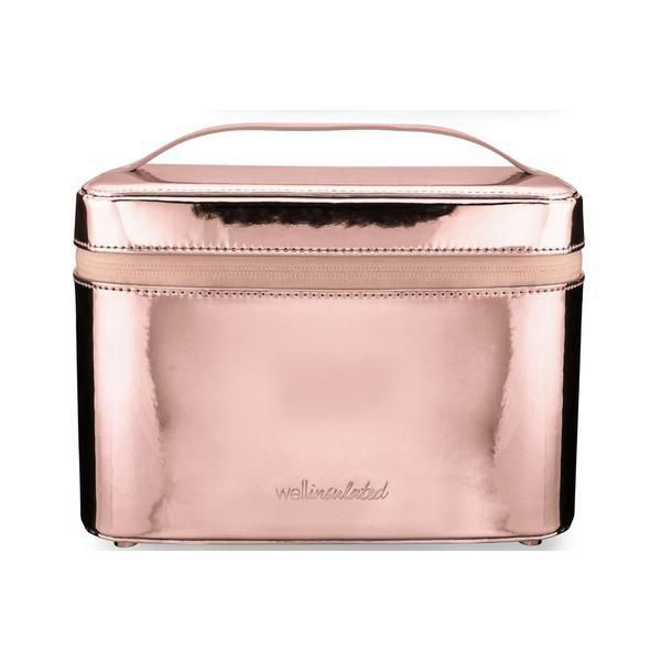 Insulated Beauty Case - Rose Gold