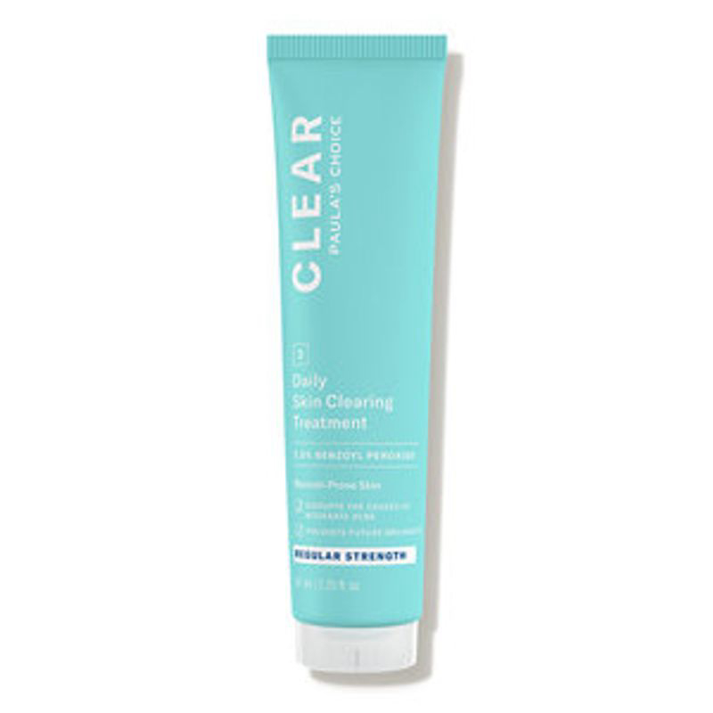 Clear Daily Skin Clearing Treatment with 2.5% Benzoyl Peroxide - Regular Strength