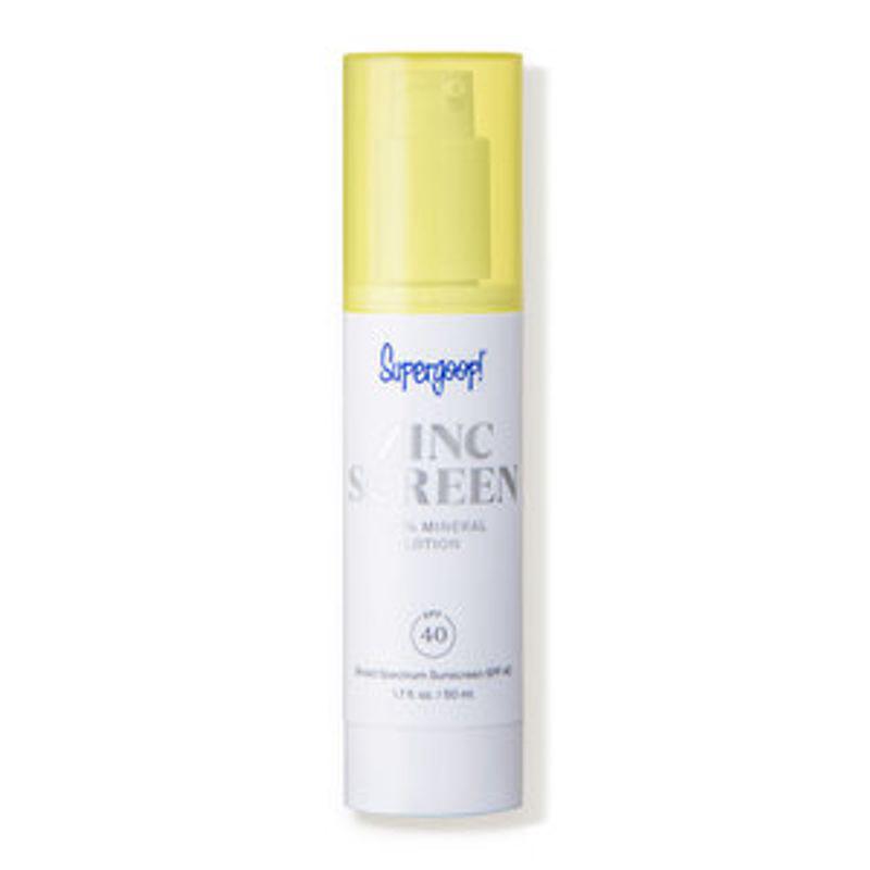 Zincscreen 100% Mineral Lotion SPF 40