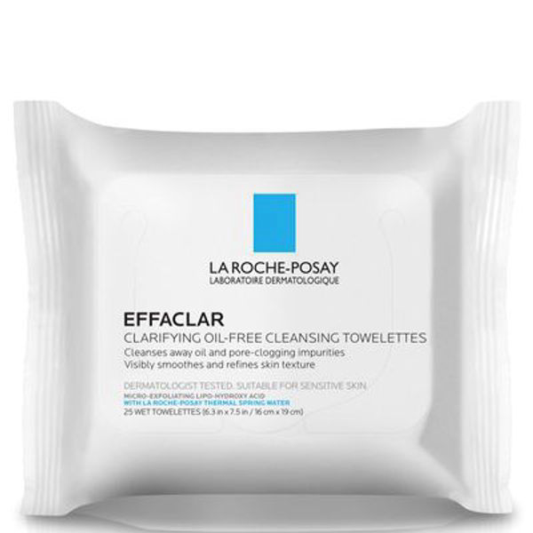 Effaclar Clarifying Oil-Free Cleansing Toilettes