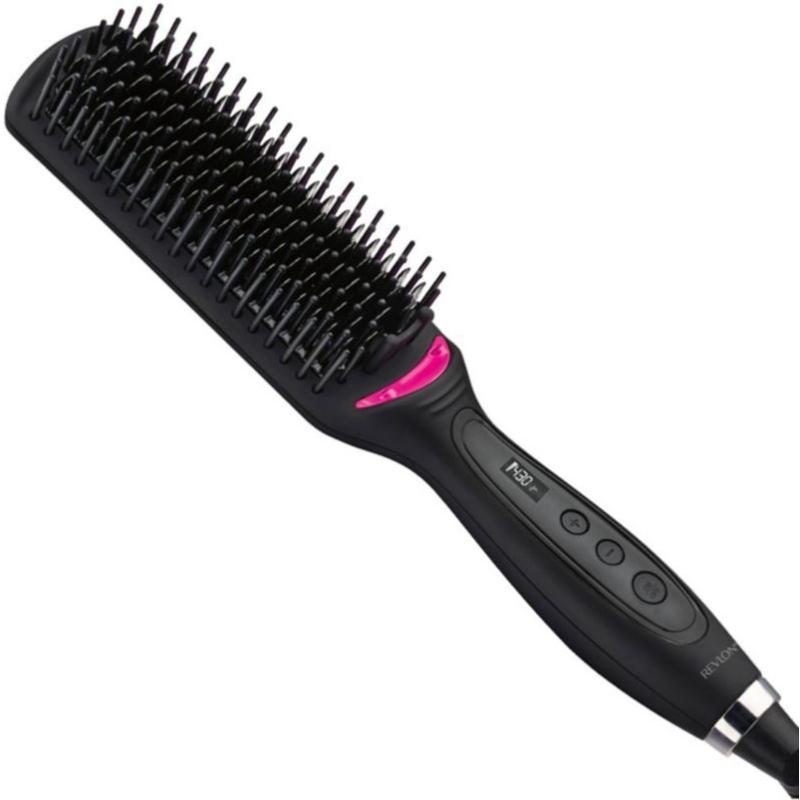 XL Hair Straightening Heated Styling Brush